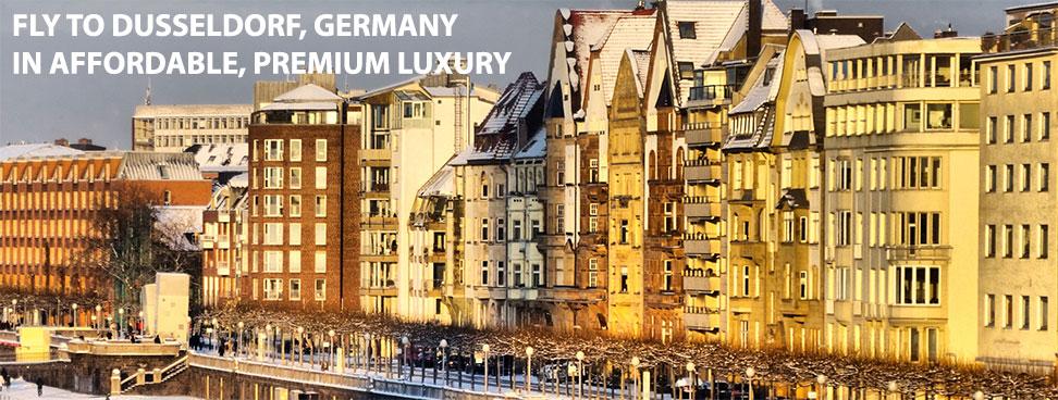 Dusseldorf Germany in Western Europe