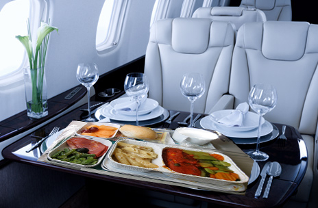 Flight food allergy